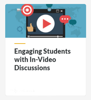 Engaging Students with In-Video Discussions