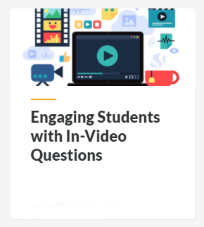 Engaging Students with In-Video Questions